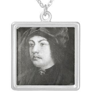 マーティンSchon 1523年 シルバープレートネックレス