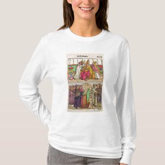 マーティンV法皇は教皇制度に取付けられています Tシャツ