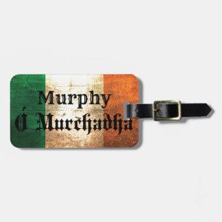 マーフィーのアイルランド人の旗 ラゲッジタグ