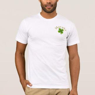 マーフィーのシャムロックのロゴのアイルランドのシャツ Tシャツ