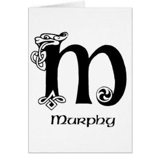 マーフィーの姓 カード