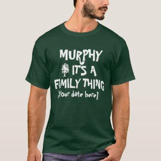マーフィーの家族会 Tシャツ