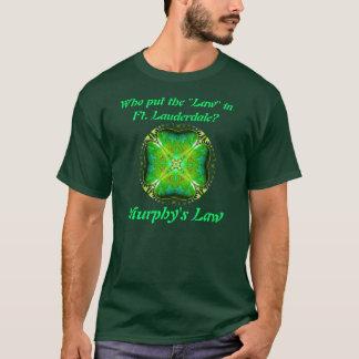マーフィーの法律のTシャツ1 Tシャツ