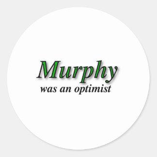 マーフィーは楽天家-マーフィーの法律でした ラウンドシール