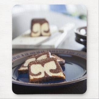 マーブルケーキのマウスパッド マウスパッド