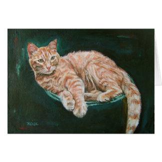 マーマレードの子猫 カード