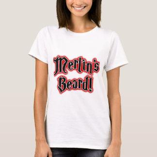 マーリンのひげ-魔法、手品師、魔法使い Tシャツ