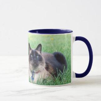 マーリンの青い平野 マグカップ