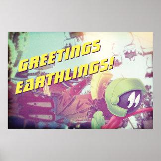 マーヴィン休暇のMARTIAN™ ポスター