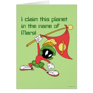 マーヴィンMARTIAN™の要求の惑星 カード