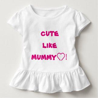 ミイラのようにかわいい! トドラーTシャツ