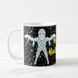 ミイラのハロウィンのマグ コーヒーマグカップ