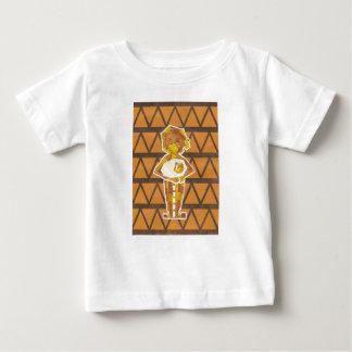 ミイラのミイラの乳児のTシャツ ベビーTシャツ