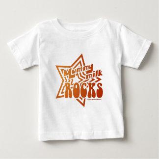 ミイラのミルクの石 ベビーTシャツ