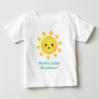 ミイラの幸福の少し日光 ベビーTシャツ
