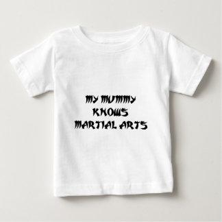 ミイラの武道 ベビーTシャツ