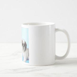 ミイラの詩-シーズー(犬)のTzuのデザイン コーヒーマグカップ