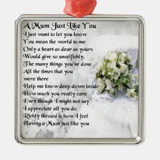 ミイラの詩-結婚式のデザイン メタルオーナメント