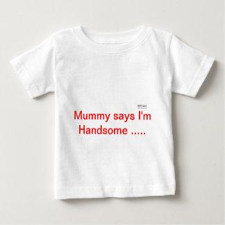 ミイラは......言います ベビーTシャツ