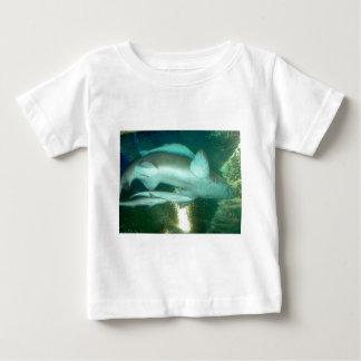 ミイラ及びベビー ベビーTシャツ