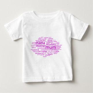ミイラWordle ベビーTシャツ