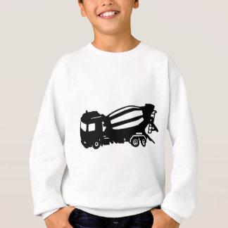 ミキサーのトラックのcamionのtoupie スウェットシャツ