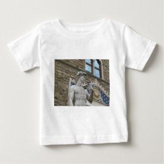 ミケランジェロのデイヴィッドフィレンツェ、イタリア ベビーTシャツ