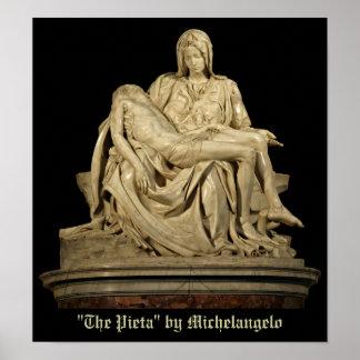 ミケランジェロのピエタ ポスター