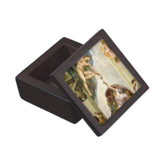 ミケランジェロのファインアートによるアダムの作成 ギフトボックス