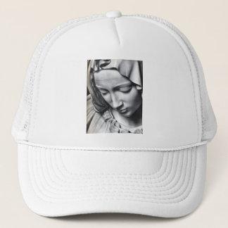 ミケランジェロの聖母マリアの顔のピエタの詳細 キャップ