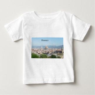 ミケランジェロスクエアからのフィレンツェの大教会堂(新St.K) ベビーTシャツ