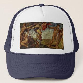 ミケランジェロ著エデンの園からの秋 キャップ