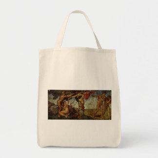 ミケランジェロ著エデンの園からの秋 トートバッグ
