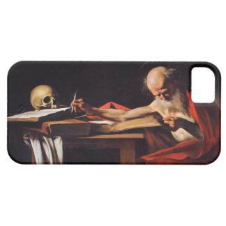 ミケランジェロCaravaggio著聖者のジェロームの執筆 iPhone SE/5/5s ケース