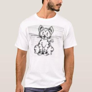 ミケーレの悲しい子ネコ Tシャツ