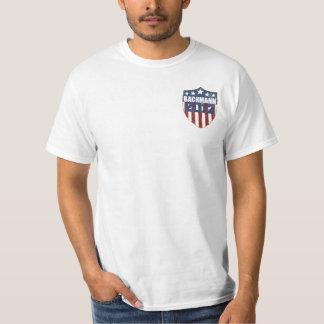 ミケーレBachmannの大統領2012年(前部および背部) Tシャツ