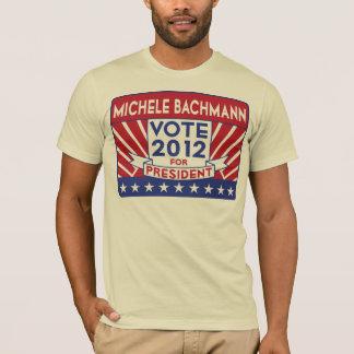 ミケーレBachmannの投票2012星条旗 Tシャツ