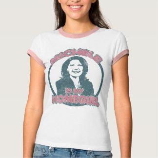 ミケーレBachmannのHomegirl (ガーリーな版は衰退しました) Tシャツ