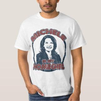 ミケーレBachmannは私のHomegirlはです(動揺してな) Tシャツ