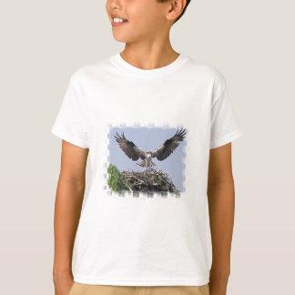 ミサゴの巣の子供のTシャツ Tシャツ
