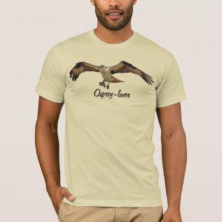 ミサゴの猛禽の鳥恋人のTシャツ Tシャツ