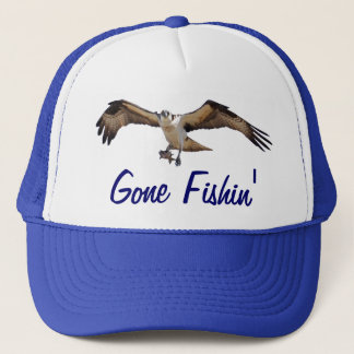 ミサゴの魚タカの行ったFishinの漁師の帽子 キャップ