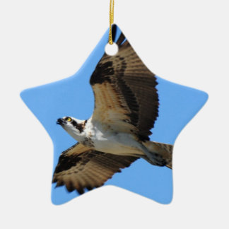 ミサゴの鳥のオーナメント セラミックオーナメント