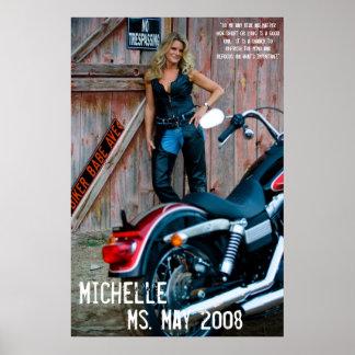 ミシェールの氏2008年5月 ポスター