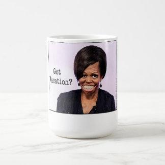 ミシェールオバマのコーヒーカップ コーヒーマグカップ
