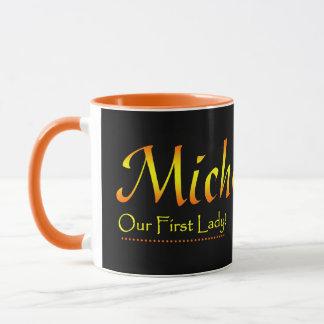 ミシェールオバマのマグ マグカップ