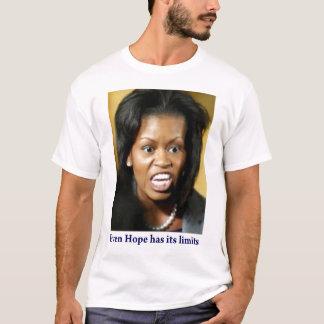 ミシェールオバマははっきり言います Tシャツ