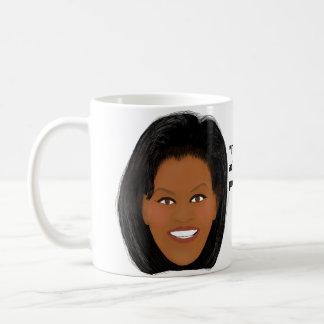 ミシェールオバマ: 私の国の誇りを持った コーヒーマグカップ