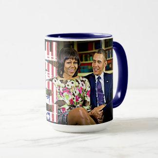 ミシェール及びバラック・オバマは既にアメリカを素晴らしくさせました マグカップ