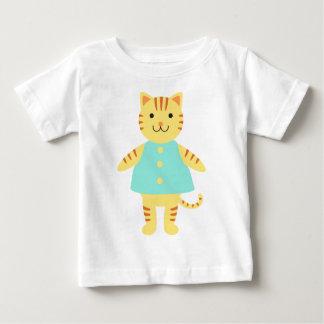 ミシェール猫 ベビーTシャツ